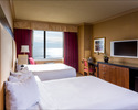Atlantic City Region-Lodging weekend-Showboat Hotel-2 double Beds 3 adults per room